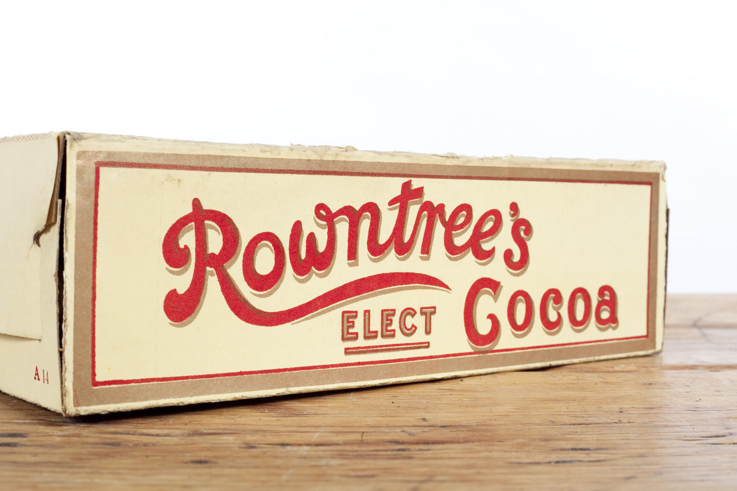 Rowntree's Elect Cocoa dummy packet.