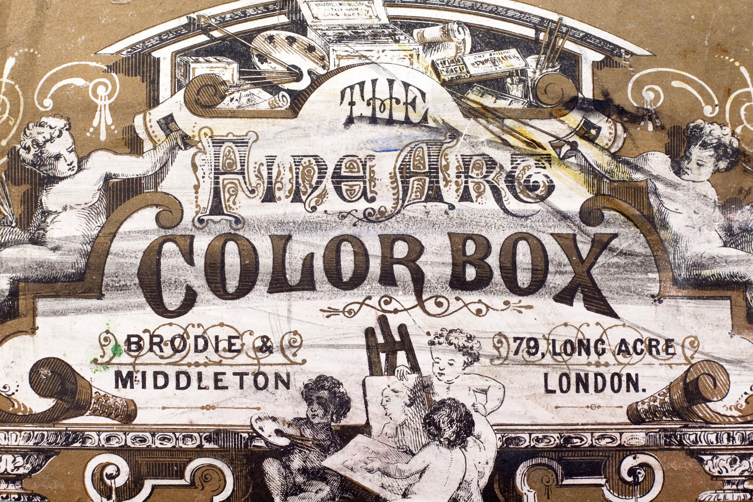 'The Fine Art Colour Box' by Brodie and Middleton