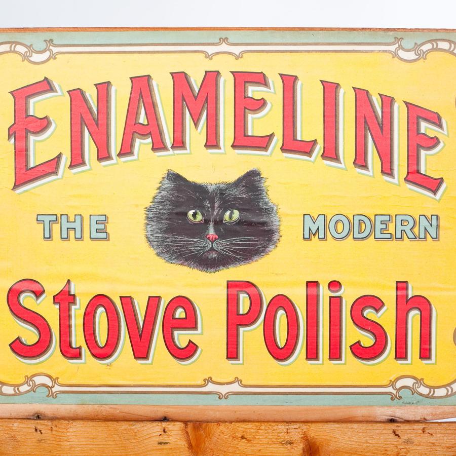 Enameline Stove Polish box