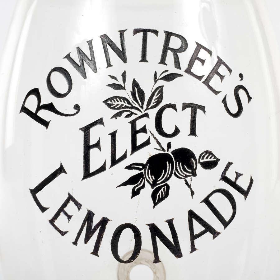 Rowntree's Elect Lemonade barrel