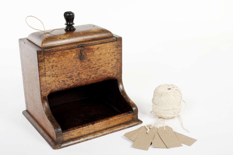 Victorian shop counter string dispenser