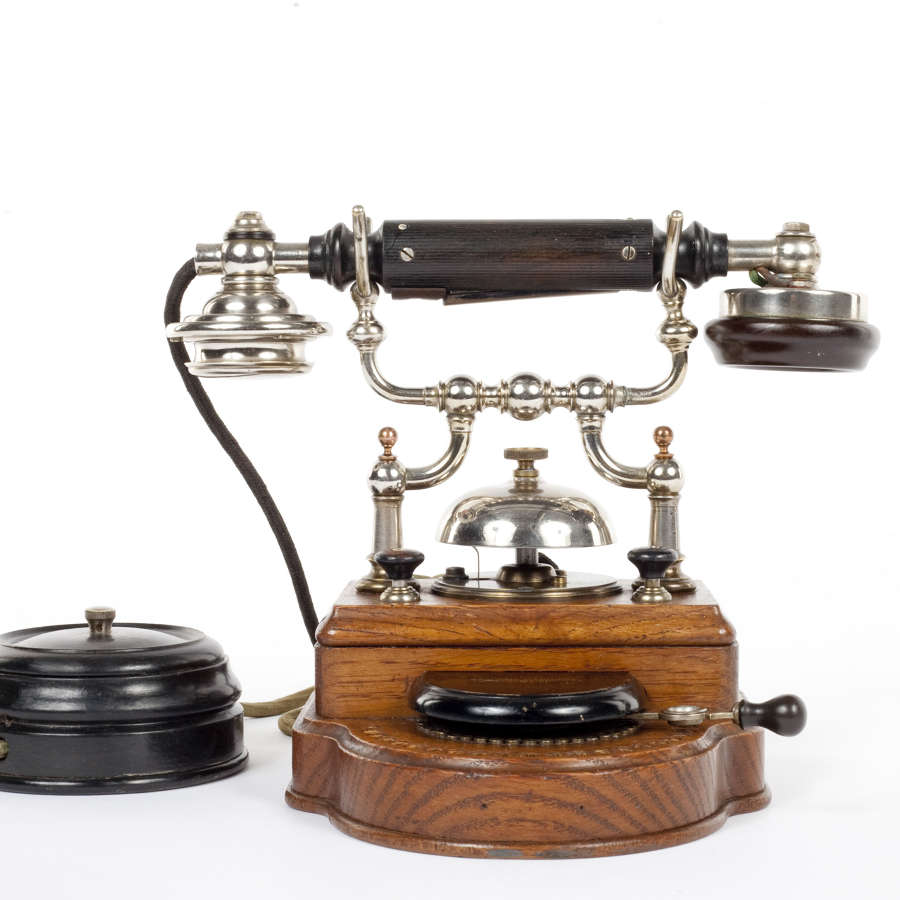 Early 20th century desk telephone