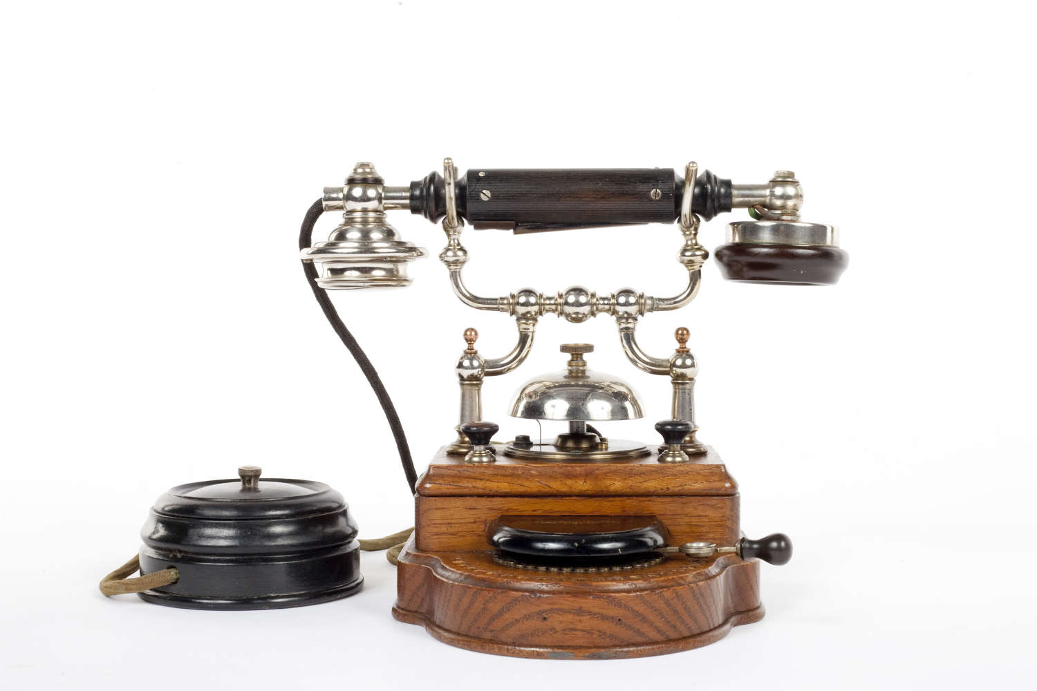 Early 20th century desk telephone