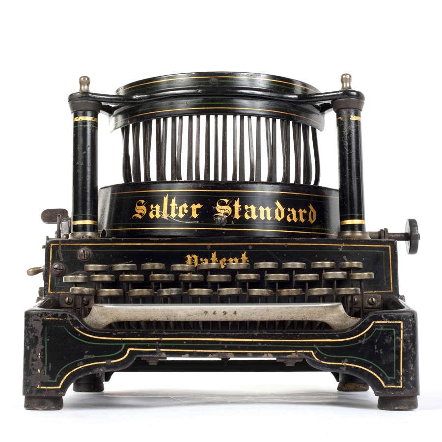 Salter Standard No.6 typewriter