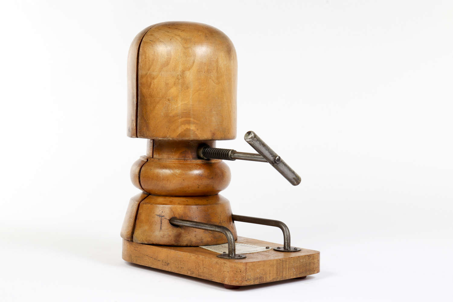 Early 20th century milliner's hat stretcher
