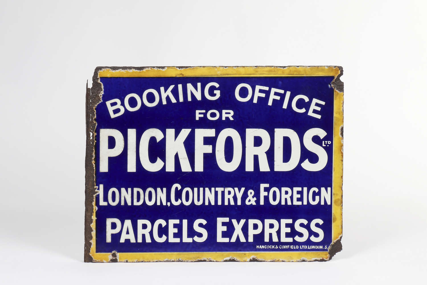 Original enamel advertising sign for Pickfords Ltd