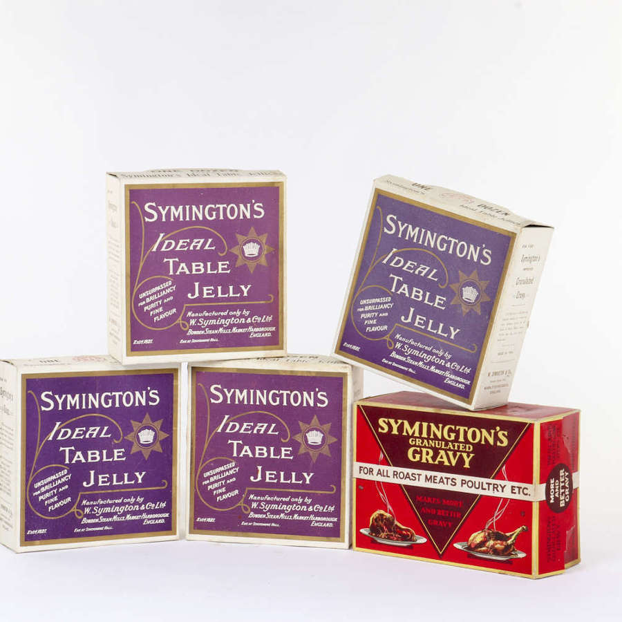 'Symington's' dummy packaging