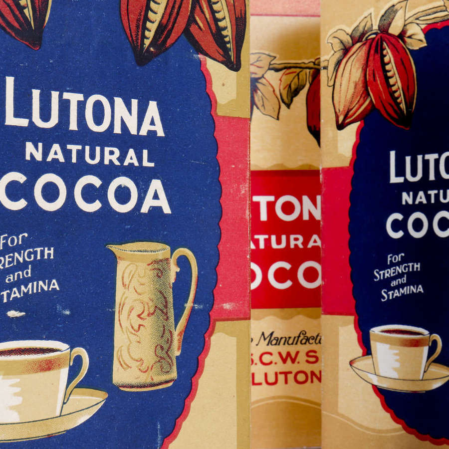 Lutona natural cocoa 'dummy packaging'