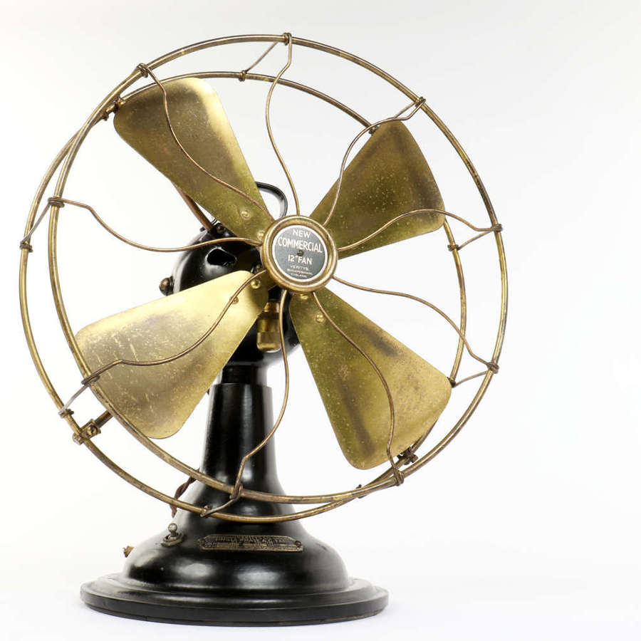 Verity's 'New Commercial' four blade fan