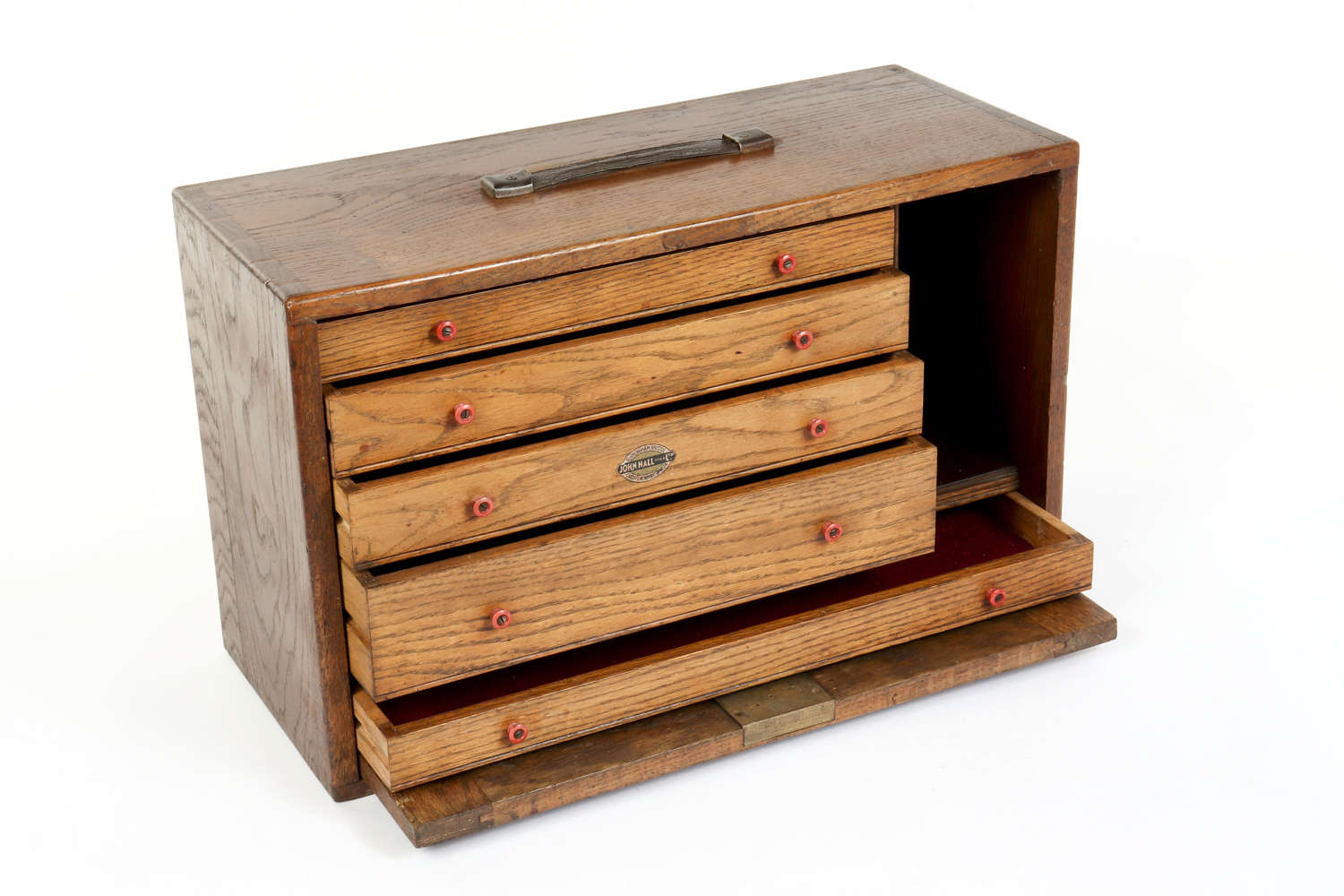Vintage engineer's chest of drawers by John Hall Tools Ltd