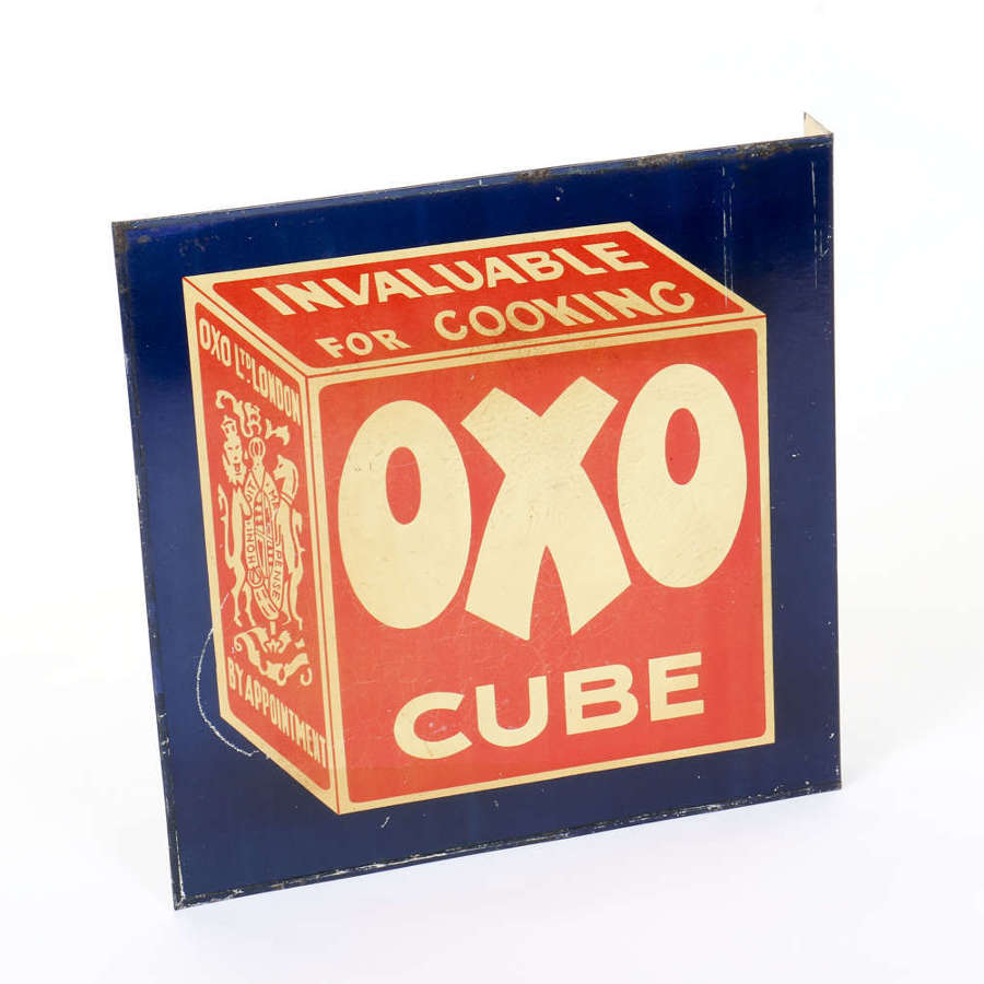 Original vintage advertising sign for OXO
