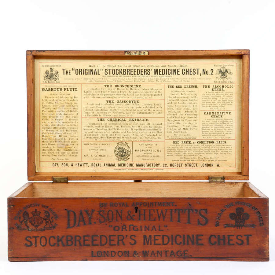 Day, Son & Hewitt's Original Stockbreeder's Medicine Chest