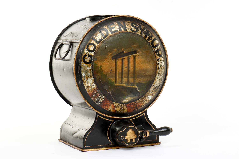 Toleware Golden Syrup dispenser