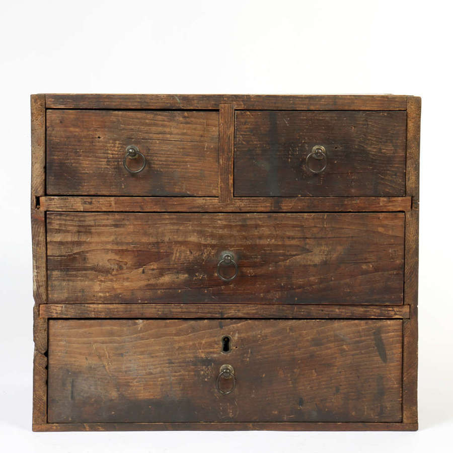 Vintage handmade chest of drawers