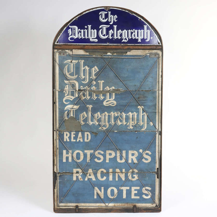 Daily Telegraph newspaper advertising sign