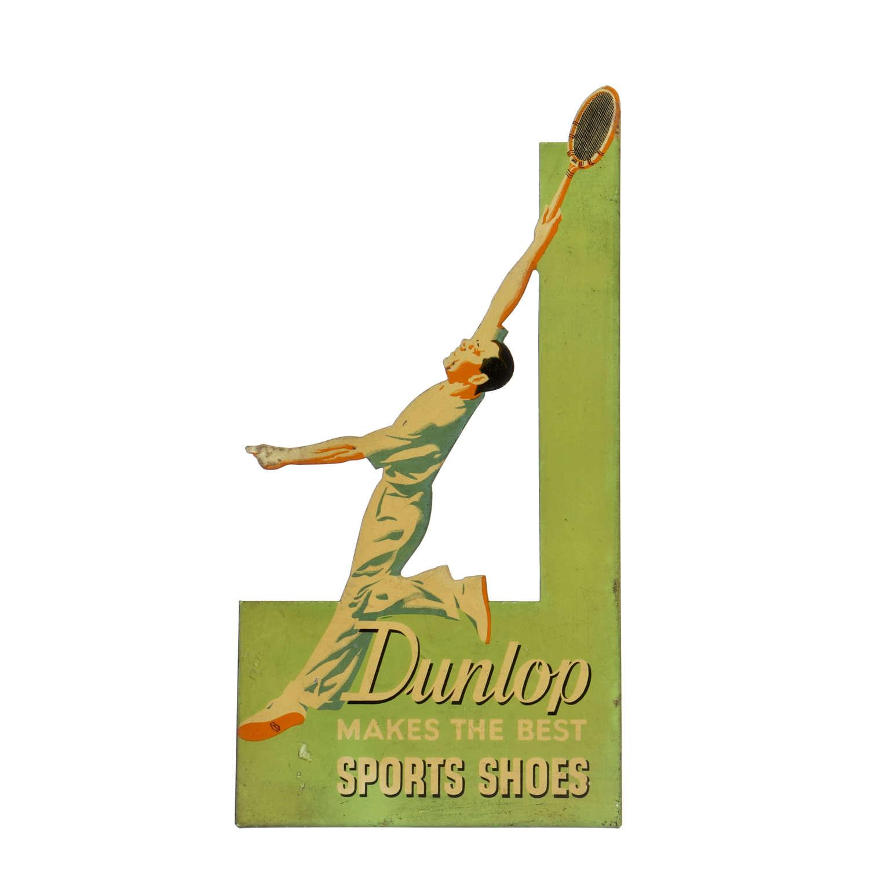Original vintage Dunlop advertising sign