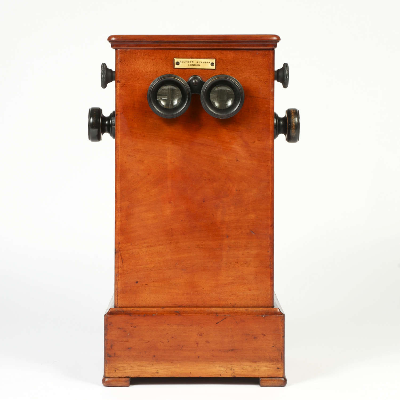 Negretti and Zambra tabletop stereoscope