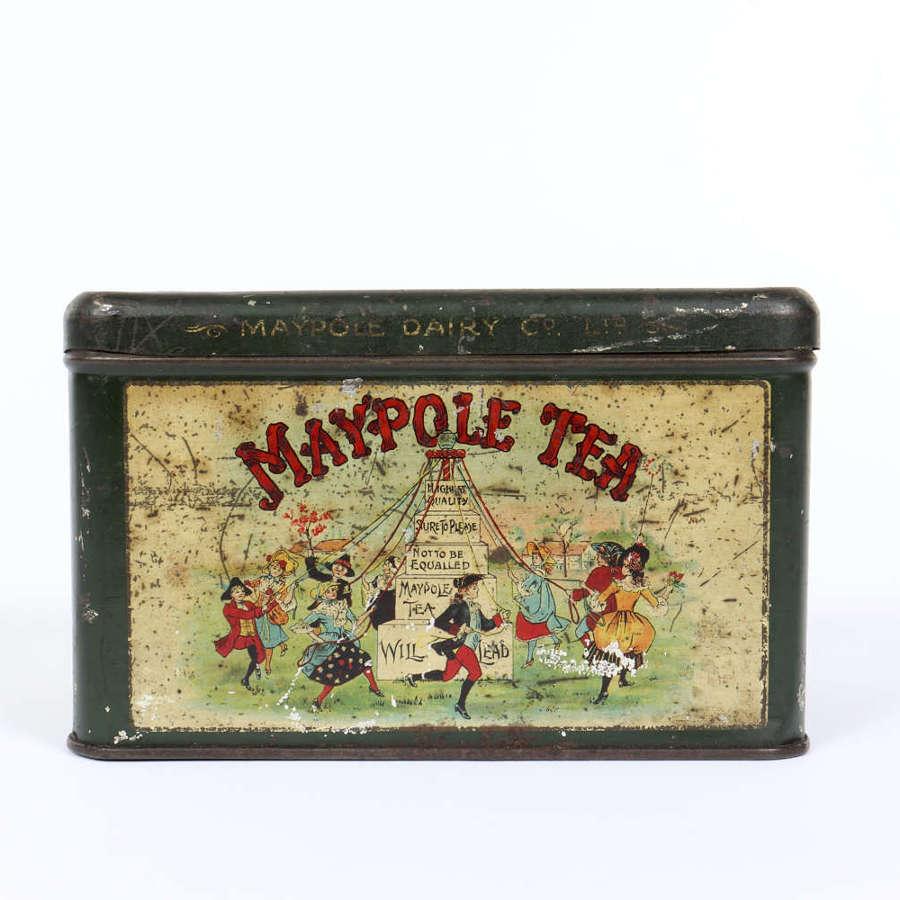 Maypole Tea tin by The Maypole Dairy Co. Ltd