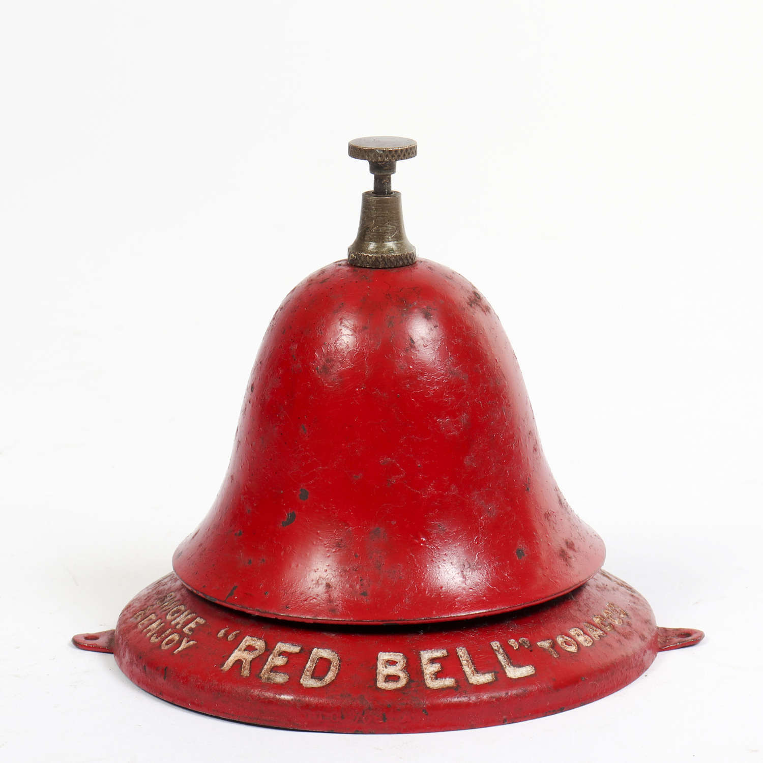 Vintage shop counter bell for Red Bell Tobacco