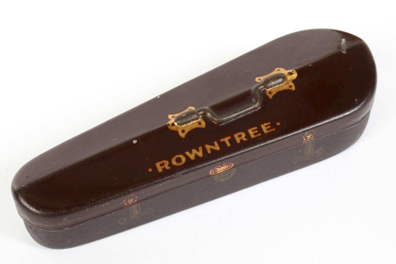 Miniature Rowntree tin
